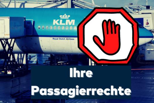 KLM Langstrecke Passagierrechte