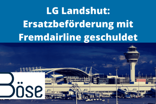 LG Landshut Ersatzbeförderung